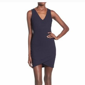 NWT ASTR the Label  Pique Knit Bodycon Dre…